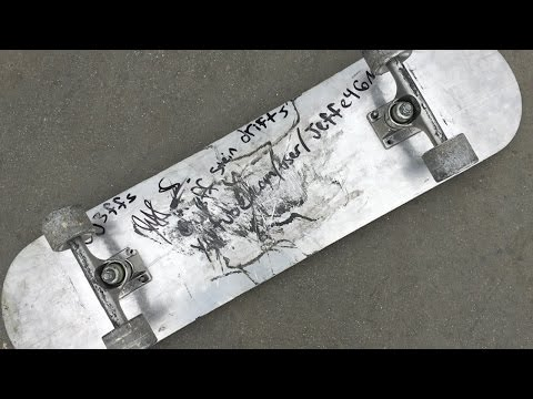 FULL METAL SKATEBOARD | YOU MAKE IT WE SKATE IT EP 8