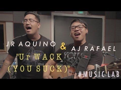 JR Aquino & AJ Rafael - Ur Wack (You Suck) || #MusicLab
