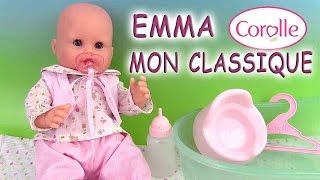 Corolle Bébé Mon Classique Emma Fait Pipi Baby Doll Bath Pees Poupée