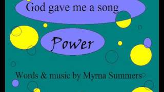Choralerna - POWER - God gave me a song
