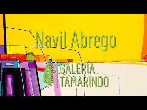 Navil Abrego, colores vibrantes con un toque de neón - YouTube