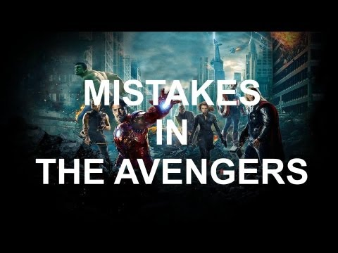 MISTAKES IN THE AVENGERS