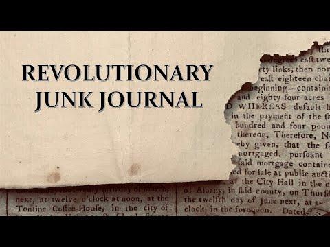 FOUND Hidden In A Newspaper! 220 Year Old Journal!
