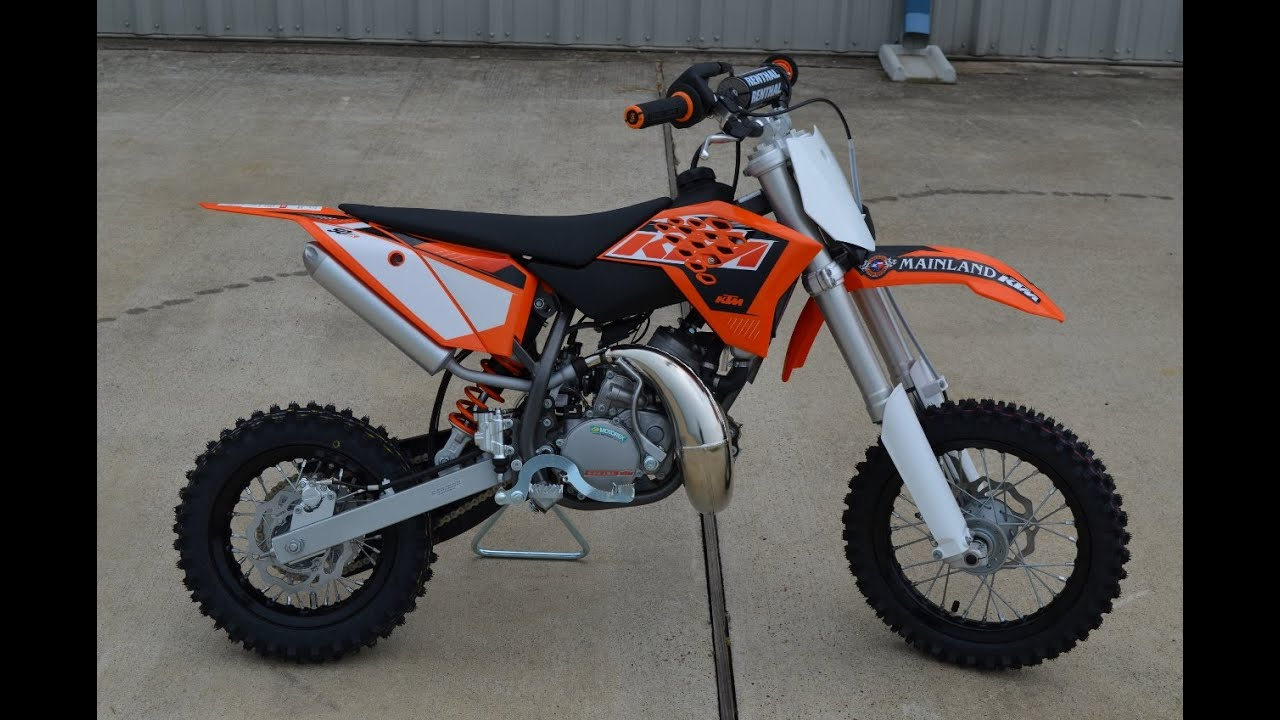 $3,899: 2015 KTM 50 SX Overview and Review
