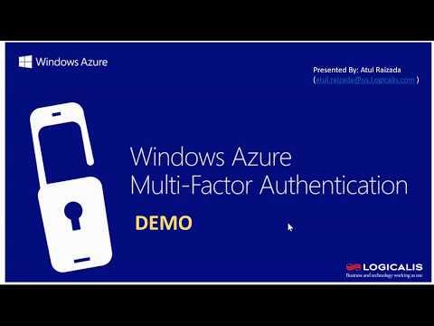 Azure Multi-Factor (MFA) Demo
