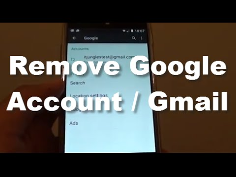 how to delete old google account