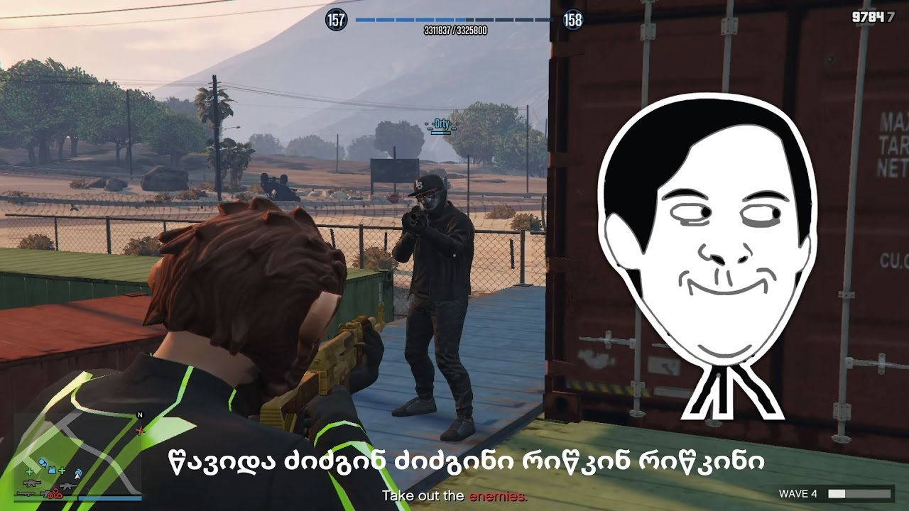 Survival – გადარჩენა (GTA 5 Online ქართულად)