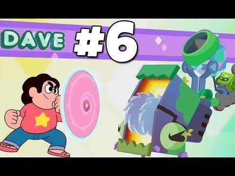 Steven Universe: Save the Light - It's DAVE!!! [Beach City Woods] - Part 6 PS4