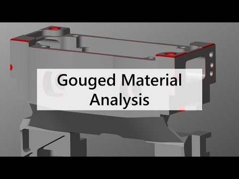 Gouged Material Analysis | Features | NCSIMUL Machine