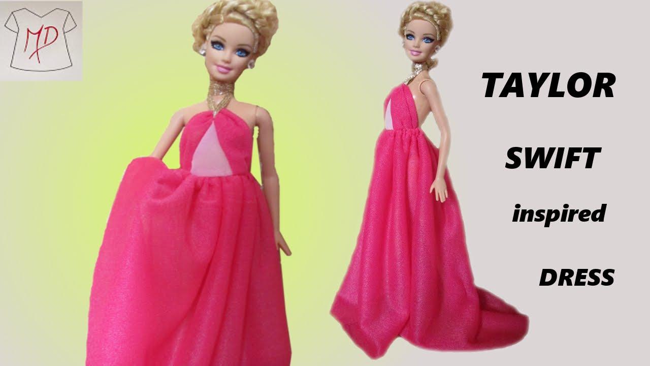 Uncategorized How To Make Barbie Doll barbie doll how to make taylor swift dress youtube