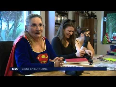 reportage video de france 3 sur GENERATION SCI-FI. poster