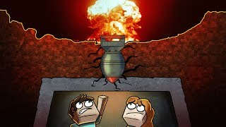 Minecraft | NUKE VS BASE CHALLENGE - Nuclear Bomb Bunker! (Will it Blow Up?)