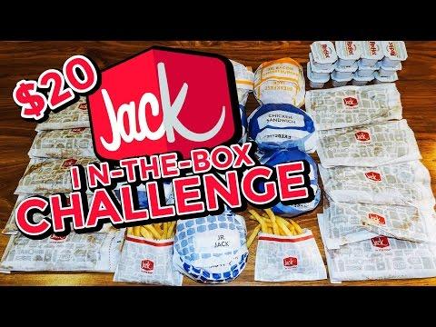 JACK IN THE BOX $20 VALUE MENU CHALLENGE!!