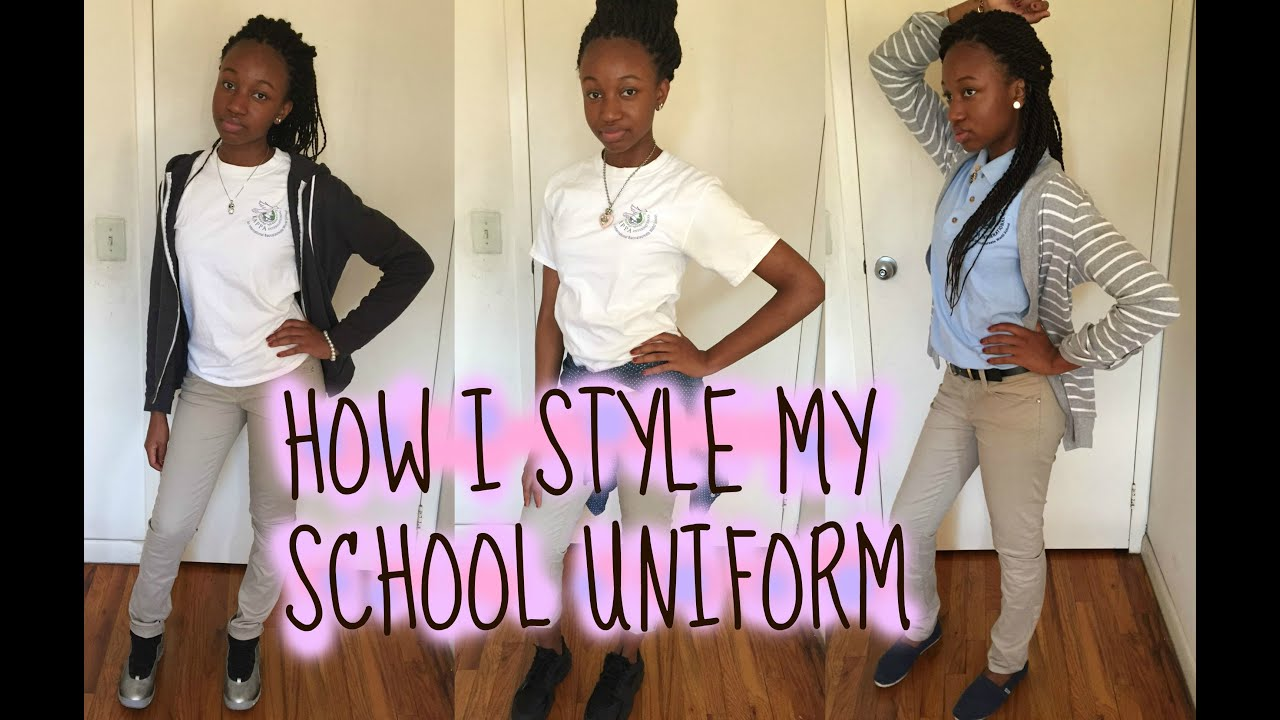 style school uniform