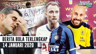 Gambar cover RESMI Barca PECAT Valverde 😱 Eriksen Setujui Gabung Inter 😱 Pepe Reina Kembali Ke Liga Primer