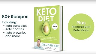 Keto Diet: A New Book by Dr. Josh Axe | Available February 19, 2019