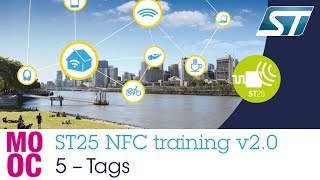 ST25 NFC training v2.0:  5 ST25T Tags