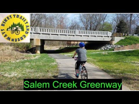 Riding Salem Creek Greenway | Winston Salem NC