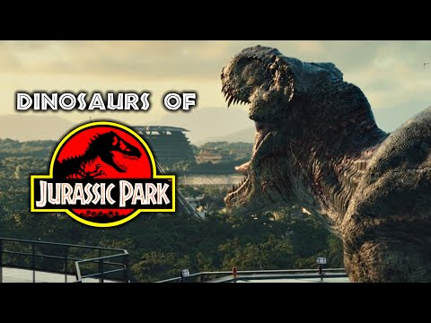 Dinosaurs of Jurassic Park - Every Dinosaur In The Jurassic Franchise