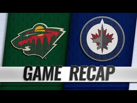 Jets edge Wild behind Brossoit's 38-save performance