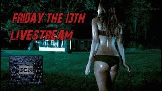 Friday The 13th Game Pink Bikini Live Gameplay