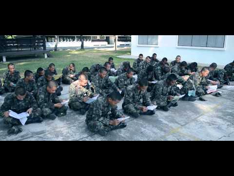 ทหารใหม่ 2/57 มทบ.22 อุบลฯ [OFFICIAL MV]