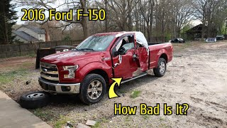 Rebuilding A Wrecked 2016 Ford F-150