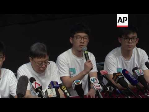 Hong Kong teen activist forms political party