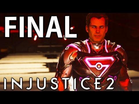INJUSTICE 2 - FINAL ÉPICO DO SUPERMAN!!?!!! [ PS4 Pro - Playthrough ]