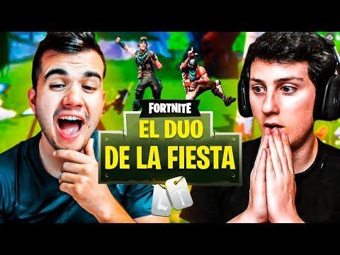 EL DÚO DE LA FIESTA🕺 | FORTNITE