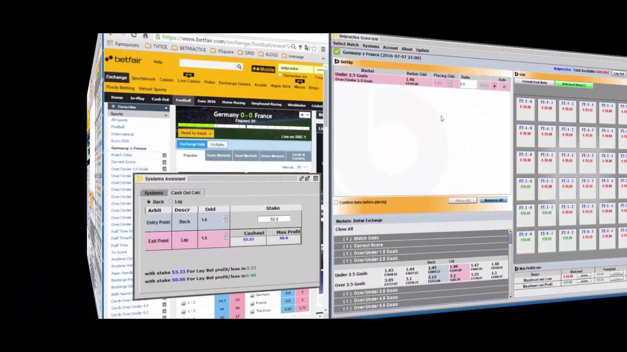 back lay arbitrage betting software