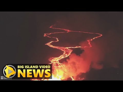 Hawaii Volcano Eruption Update - Thursday Afternoon (May 24, 2018)