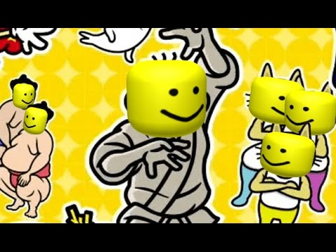 Video - Rhythm Heaven Megamix remix 10 but with the roblox