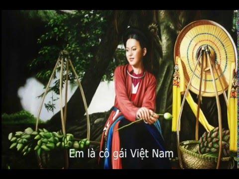 Cô gái Việt.karaoke.P2 Trường ca Người Việt.st:Minh Châu