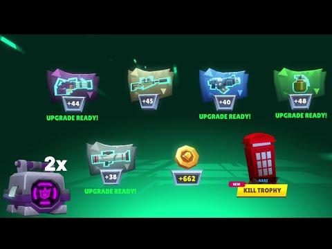 MEGA BOX BUNDLE || Bullet League 2D Battle Royale Gameplay