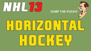 NHL 13: Horizontal Hockey