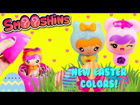 SMOOSHINS Easter Pastel Colored New Smooshins Squishy Characters