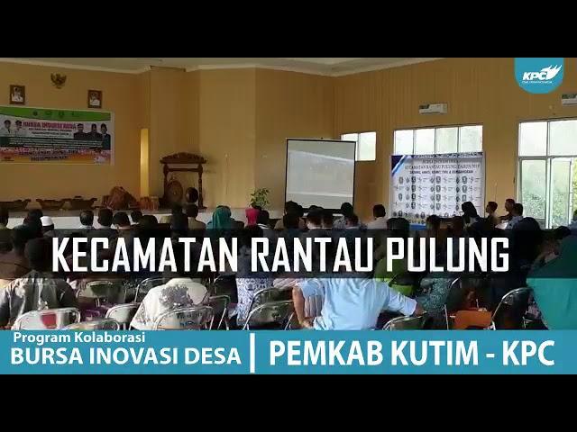 Bursa Inovasi Desa di Kecamatan Rantau Pulung