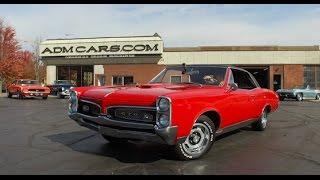 1967 PONTIAC GTO 400 THREE DEUCES RARE OPTIONS