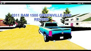 2011 DODGE RAM 1500 GREENVILLE CAR REVIEW