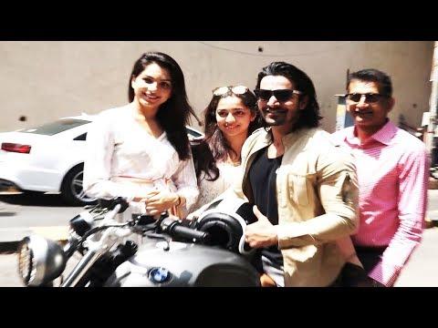 Paltan Team Spotted at Olive Bandra | Harshvardhan Rane, Sonal Chauhan, Gurmeet | Bollywood Events