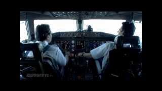 [Cockpit Video] Austrian Airlines Boeing 777 landing at Tokyo Narita
