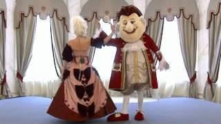 Свадьба в королевском стиле (рекламный сюжет СТС)