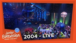 Recap of all the songs of the 2004 Junior Eurovision Song Contest