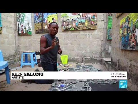 En RD Congo, l'artiste qui sculpte avec des ordures