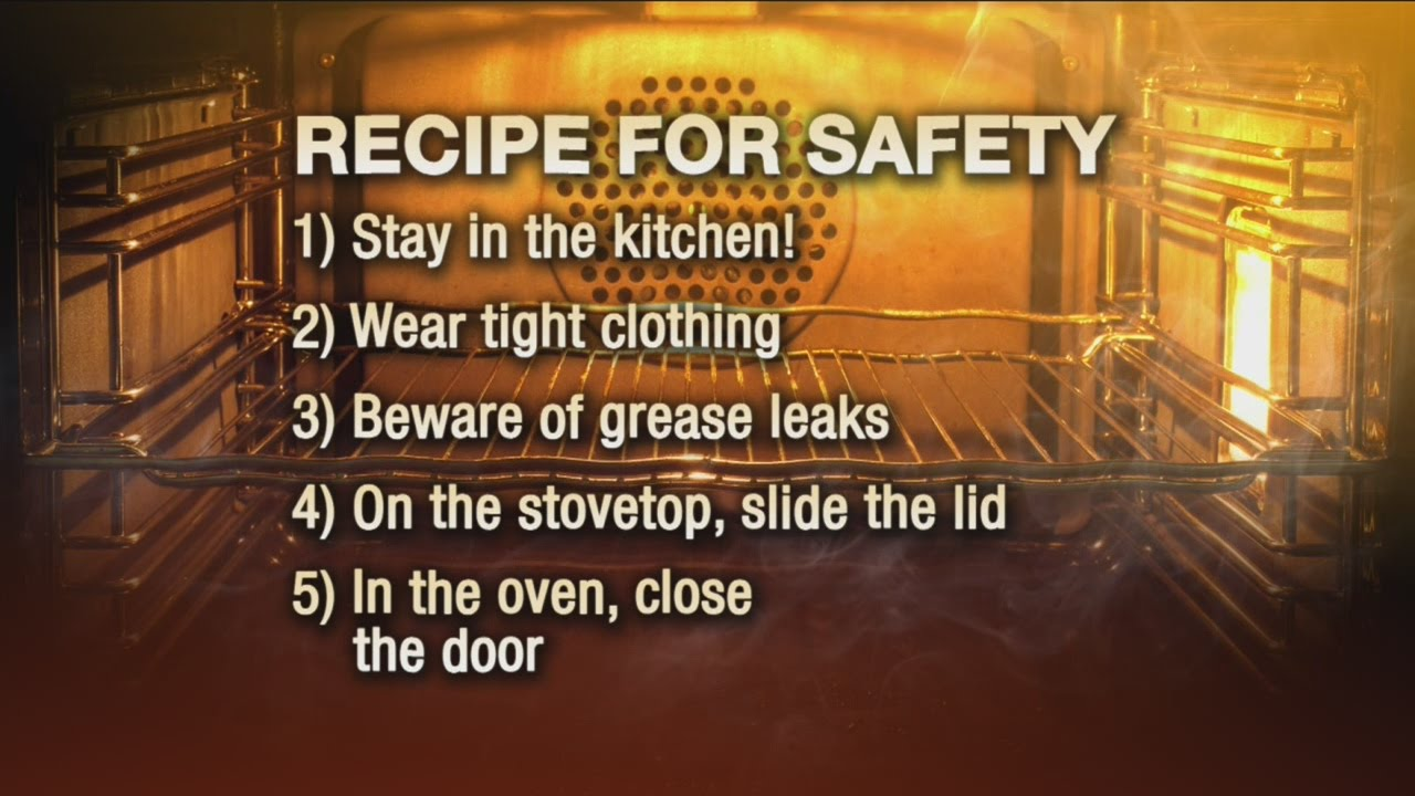 tips for preventing kitchen fires