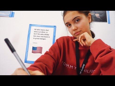 первый день в Американской Школе |  Nastya Swan
