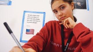 первый день в Американской Школе   Nastya Swan