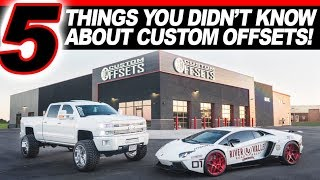 5 Things You Didnt Know About Custom Offsets!