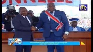 Prestation de Serment et Passation de Pouvoir entre Felix Tshisekedi et Joseph KABILA en RDC